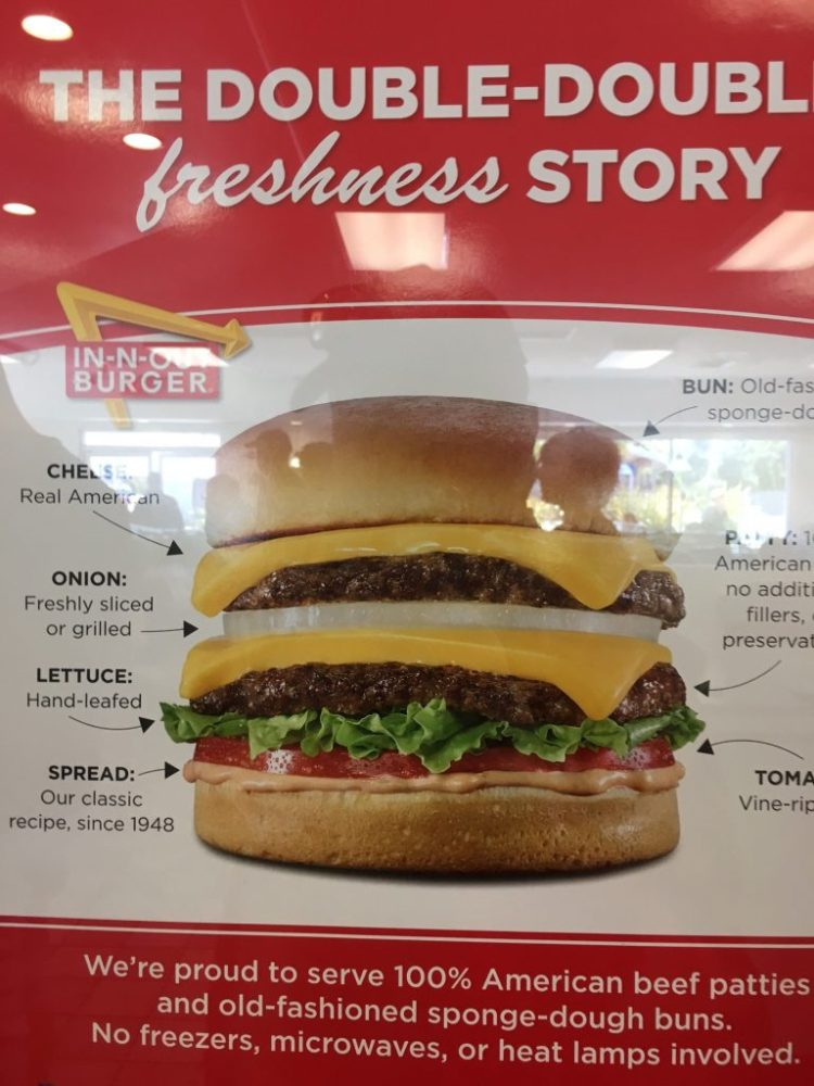 in-n-out Double Burger