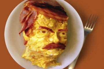 Bacon Omlet Portrait
