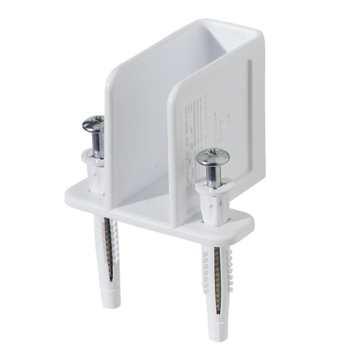 Closetmaid White Wire Shelving Wall Bracket Metzger S Hardware