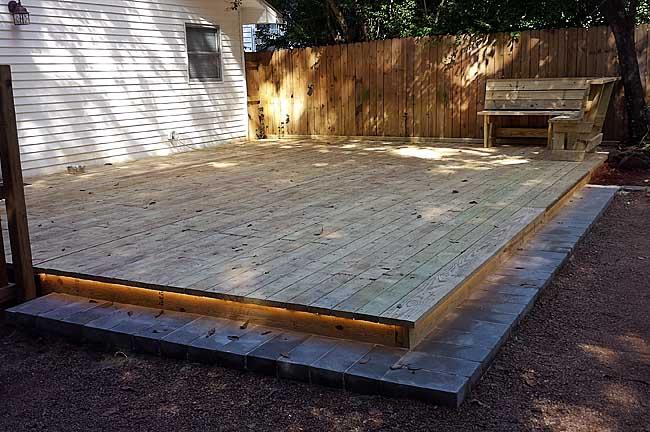 deck patio building metz remodeling