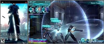 Crisis Core Final Fantasy VII ISO PSP DOWNLOAD