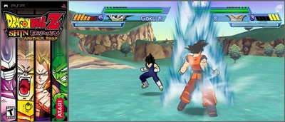 Dragon Ball Z Shin Budokai PSP ISO DOWNLOAD