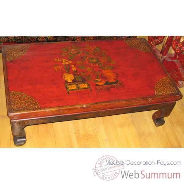 table basse petit modele tibet style chine c0321