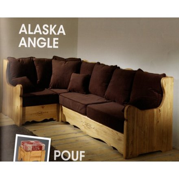 salon style montagne alaska d angle tissu aux choix 250cm