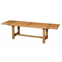 table de ferme chene massif antique 220cm