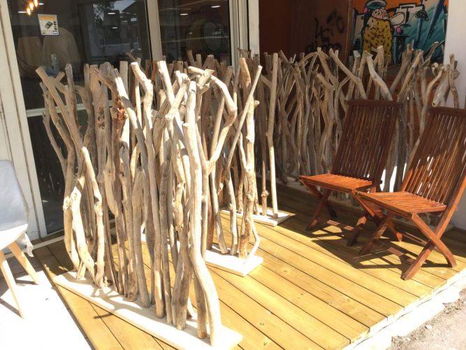 cloison en bois flotte une vraie