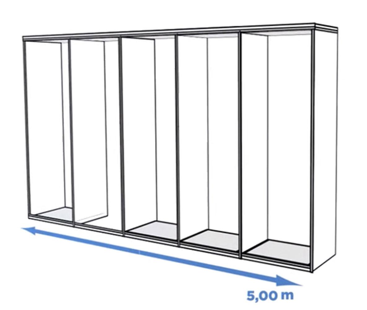 portes de placard coulissantes optima