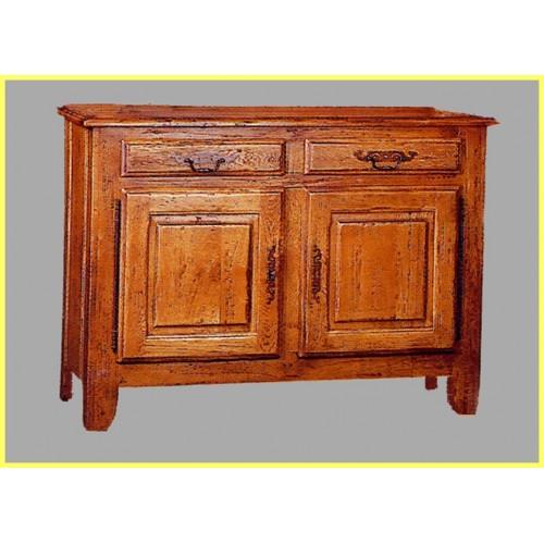 bahut 2 portes vieux bois francois en