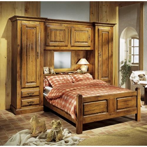 lit pont vieux bois francois meubles