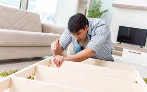 démontage de meubles