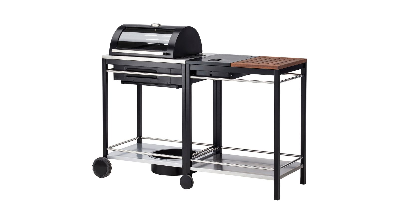 Meuble De Jardin Ikea Barbecue Au Charbon Avec Chariot