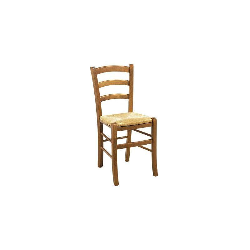chaise bois paille 4 pieds paysanne modele venise transport compris