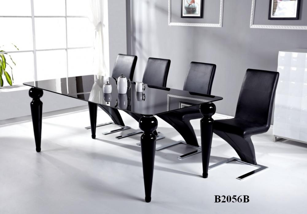 Meubles Table 2056 Noire Montral Table Dner Table