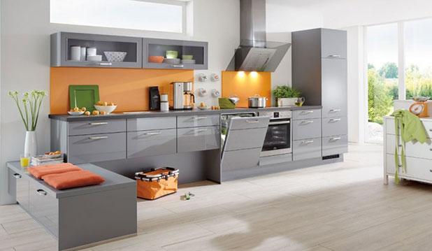 une cuisine moderne pour un espace