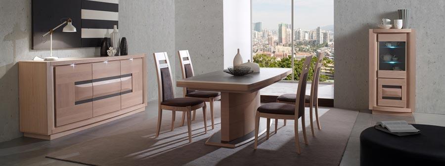 salle a manger meubles bois massif