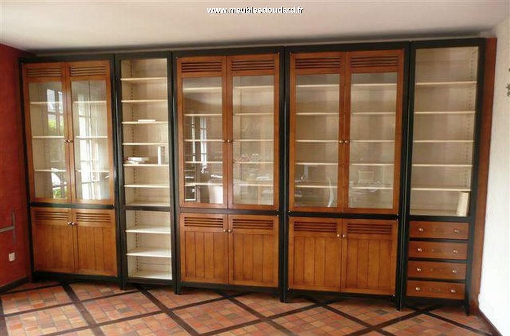 Agencement Meuble Bibliothque En Bois Bibliothque D