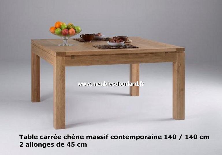 table carree ref al 13 chene