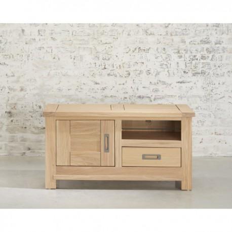 meuble tv montreal finition chene aspect brut