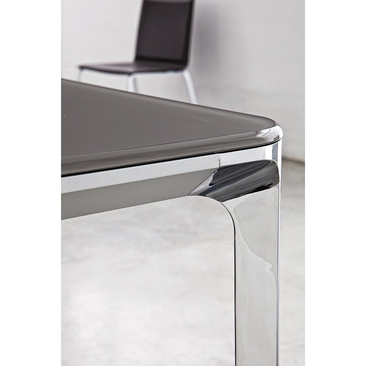 Table Extensible Light Pieds Chroms Meubles Et Atmosphre