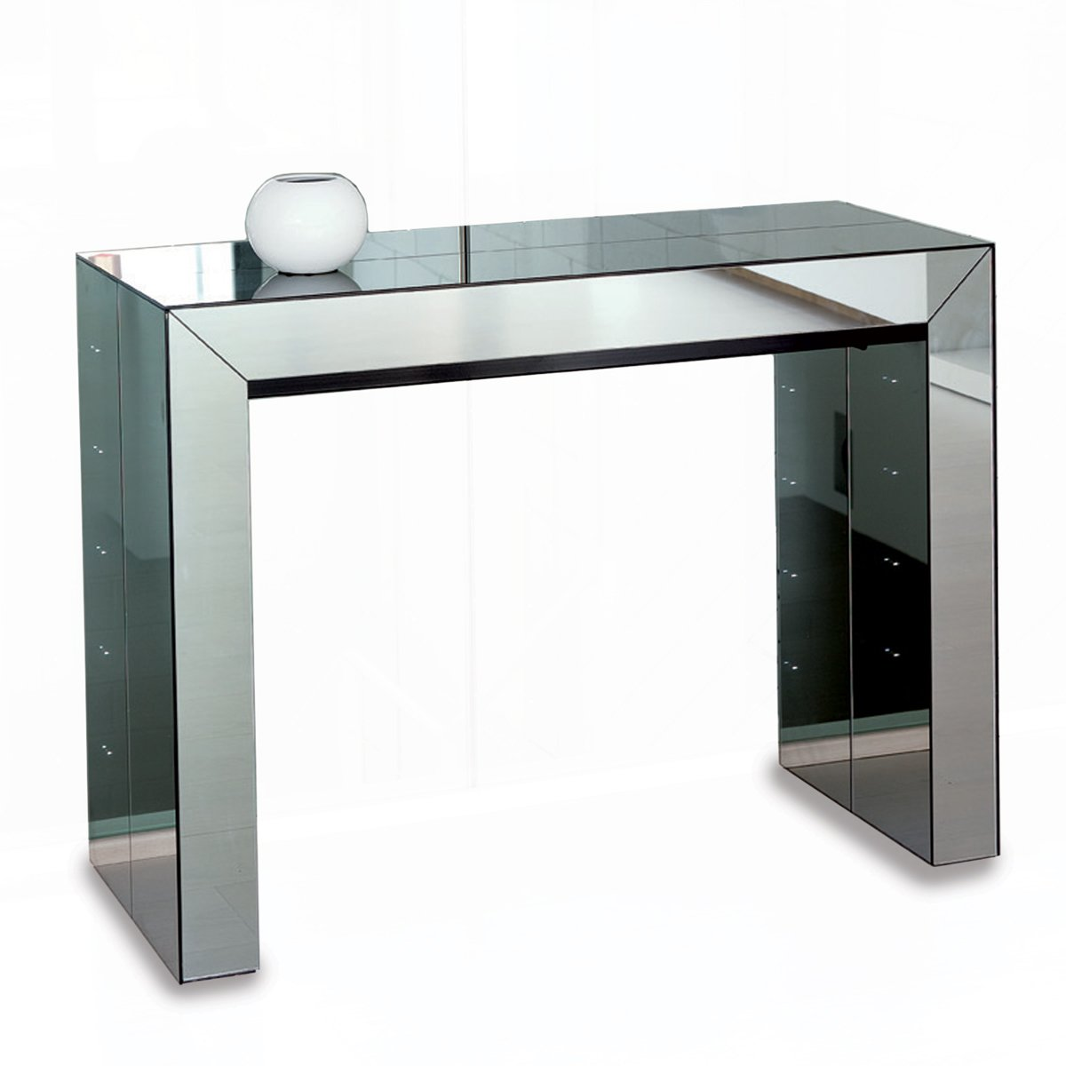 table console miroir
