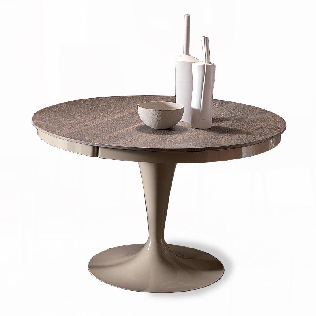table ronde extensible eclipse bois