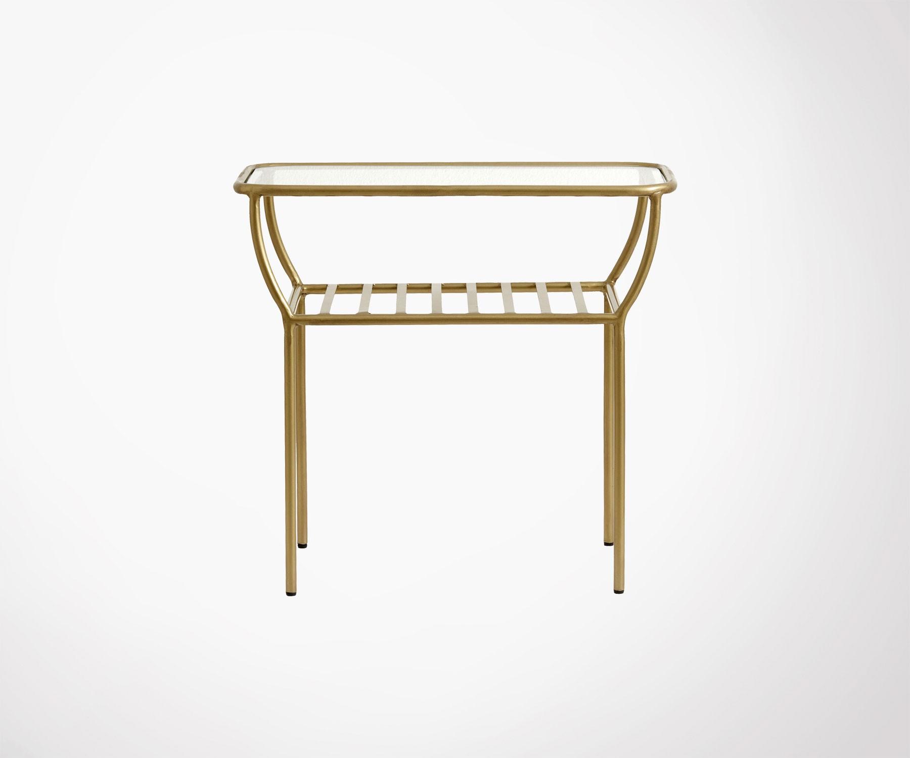 table d appoint design fer et verre malone nordal