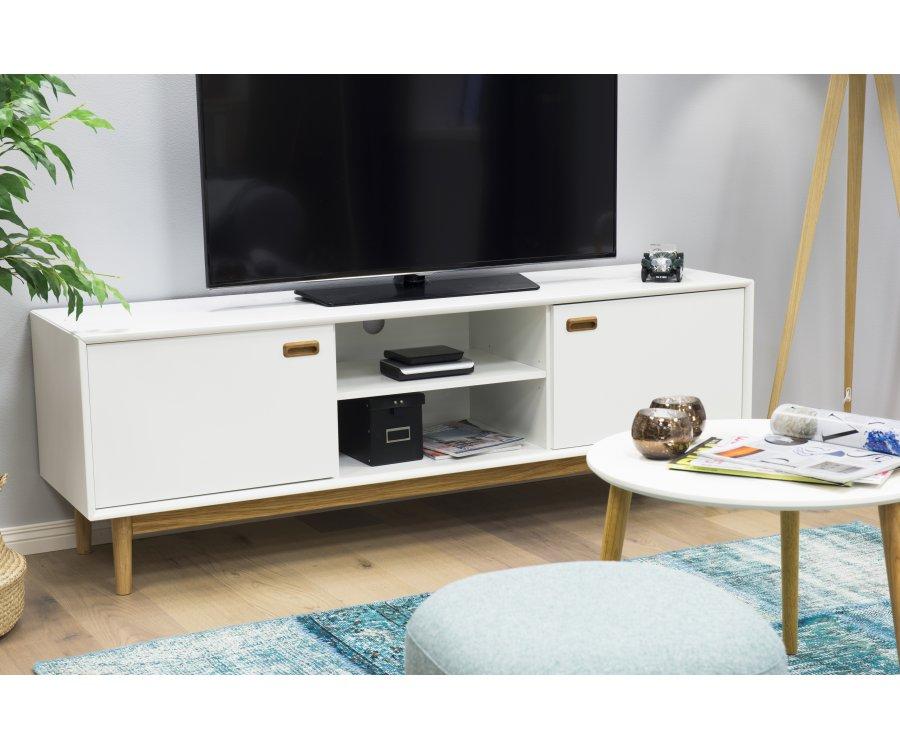 meuble tv moderne en bois mdf neo