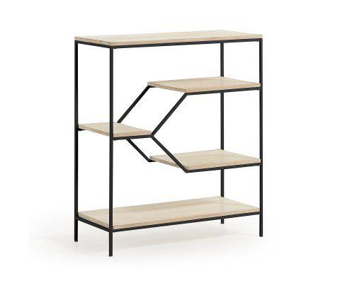 etagere design metal bois kype 80x93cm