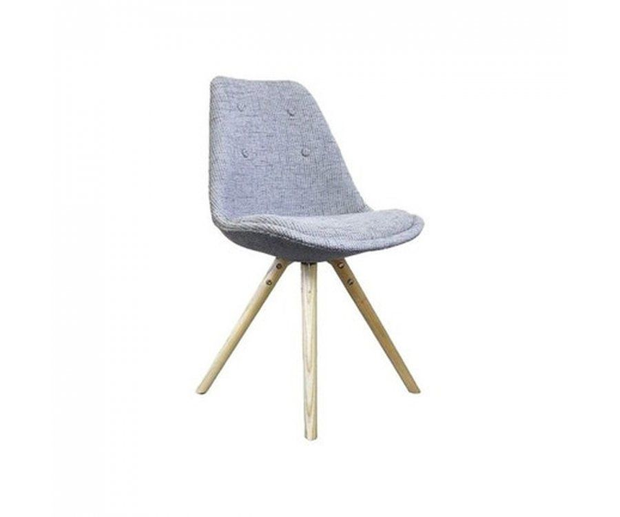 chaise design tissu rembourre style scandinave inspiration designer