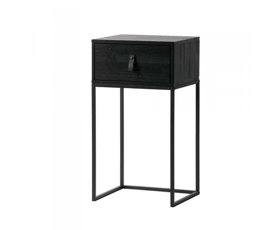 https www meublesetdesign com fr chambre table de chevet table de chevet avec tiroir laelia woood