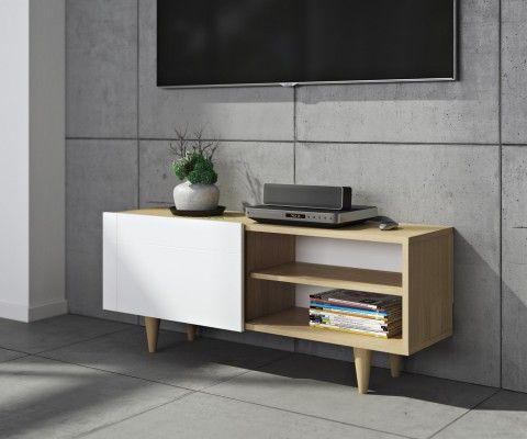 meuble tv design scandinave cruz 120cm