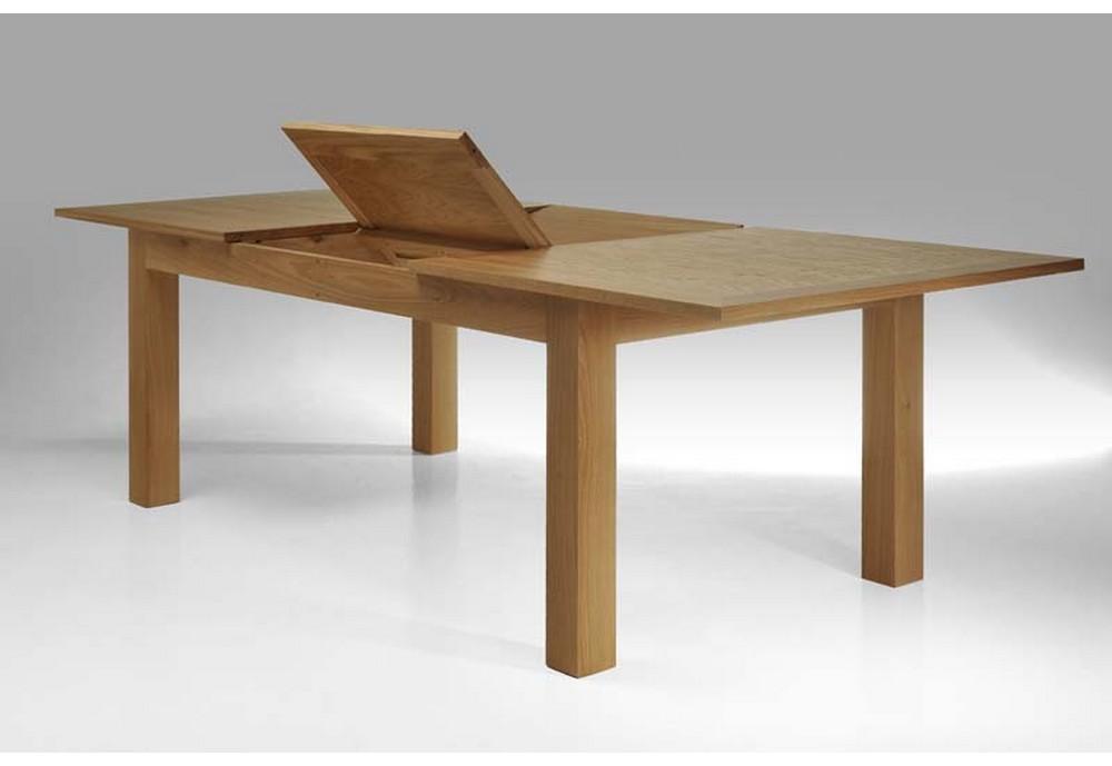 table en chene massif avec rallonges