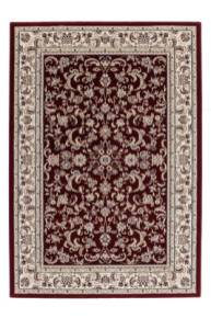 tapis traditionnel rouge