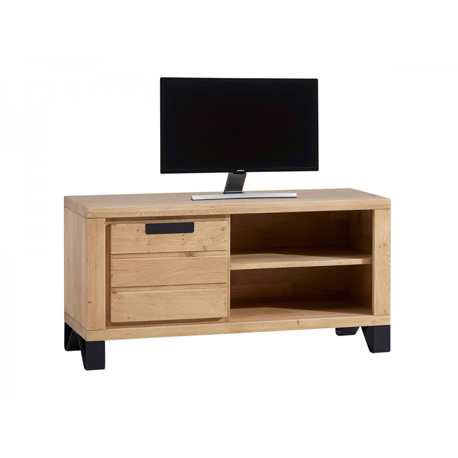 petit meuble tv hudson 100 chene massif