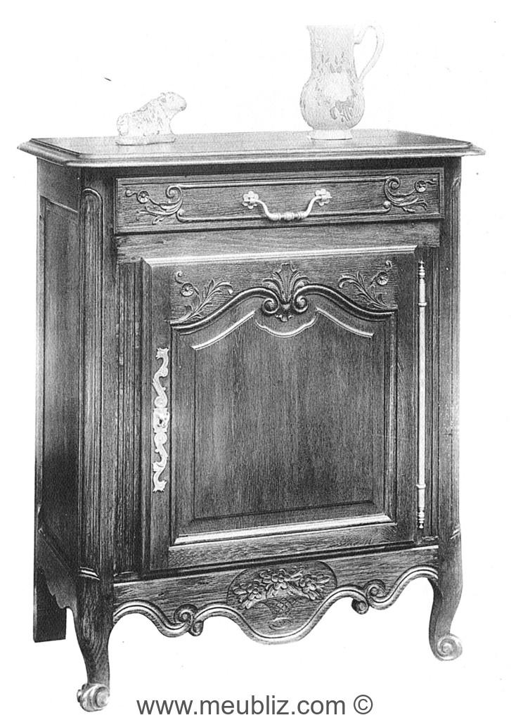 confiturier louis xv meuble ancien
