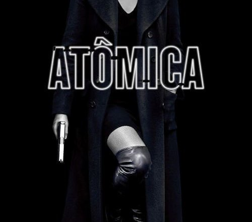 "Poster for the movie ""Atomic Blonde: Agente Especial"""