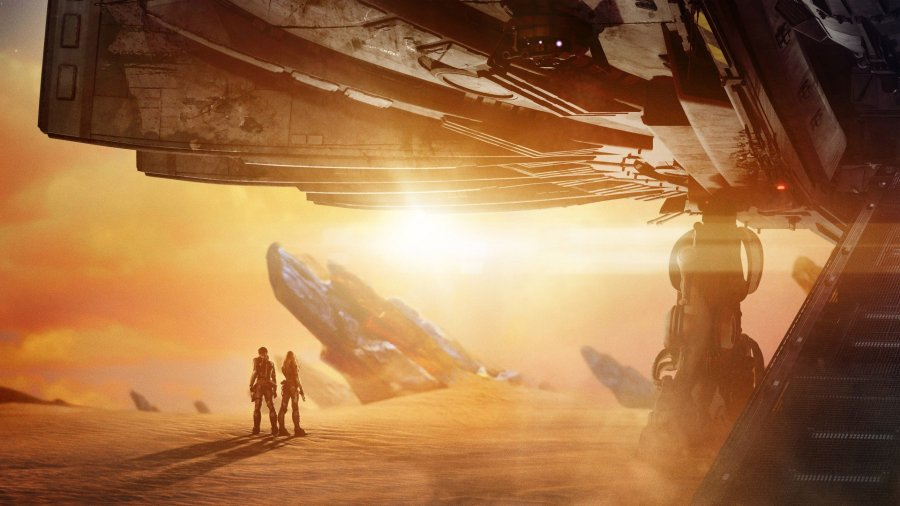 "Image from the movie ""Valerian e a Cidade dos Mil Planetas"""
