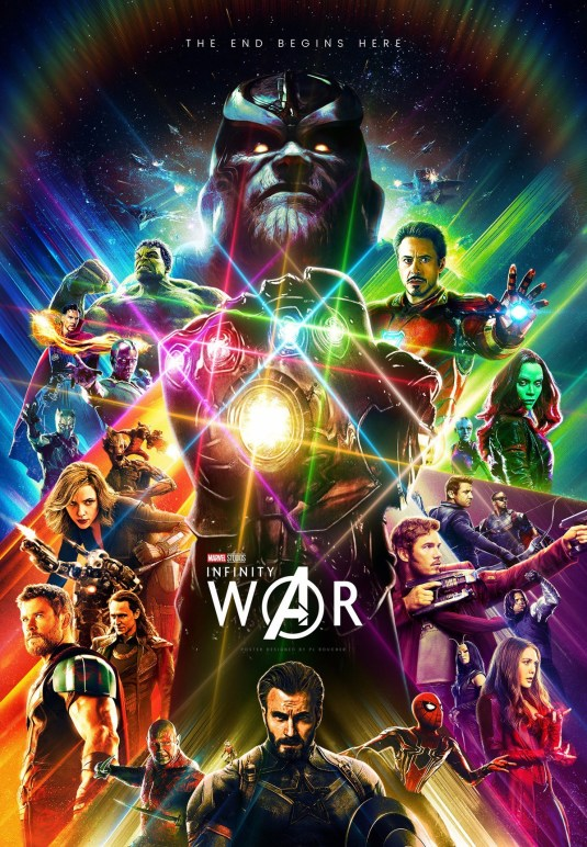 Poster Guerra Infinita