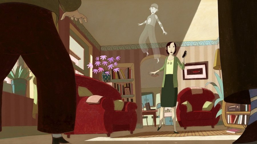 "Image from the movie ""O Garoto Fantasma"""