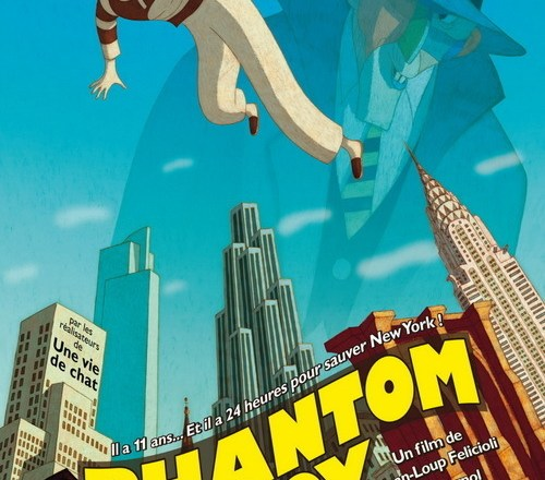 "Poster for the movie ""Phantom Boy"""