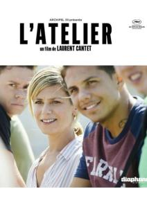 "Poster for the movie ""L'atelier"""