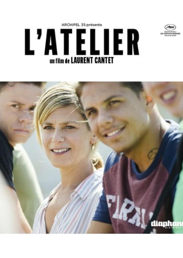 """Poster for the movie """"L'atelier"""""""