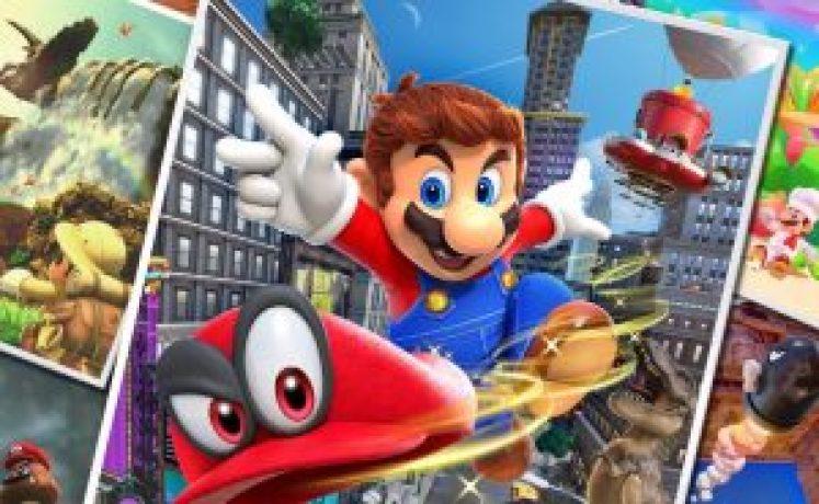 Super Mario Odyssey entra para a história