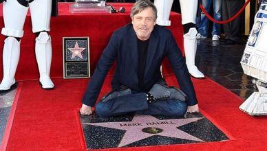 Mark Hamill finalmente ganhou sua estrela na calçada da fama