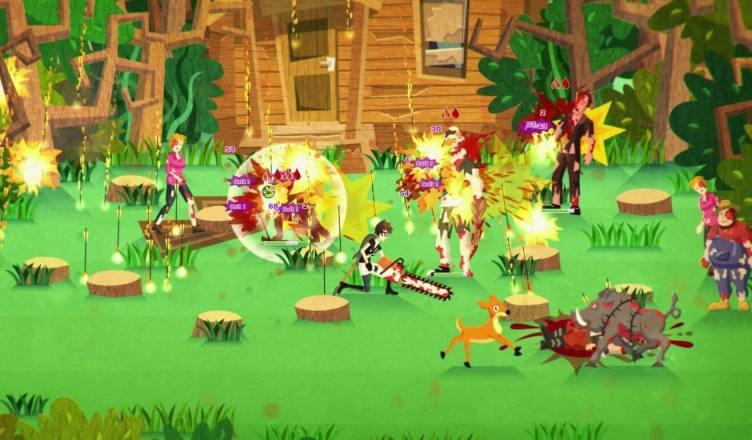Infected Shelter jogo indie sarcástico e sangrento