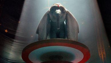 "Versão live-action de ""Dumbo"" ganha primeiro pôster do elefante voador!"