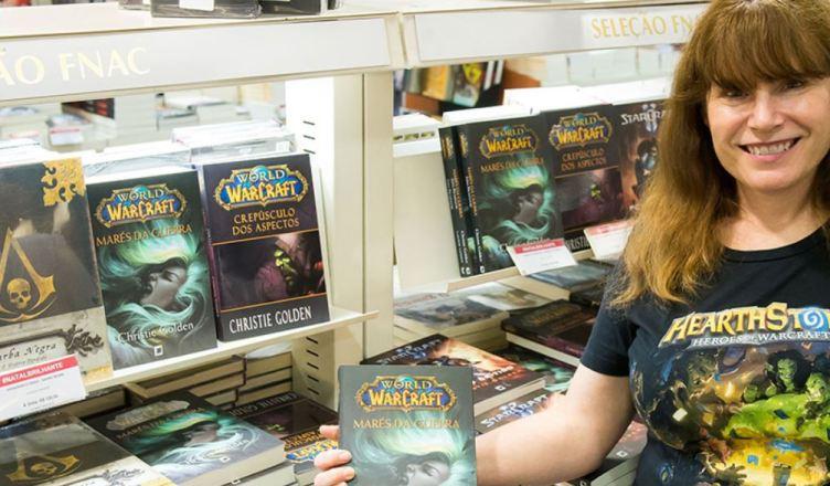 Blizzard confirma autora de livros de World of Warcraft, Christie Golden na CCXP