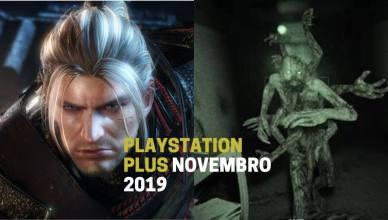 Nioh e Outlast 2 são os jogos da PS Plus de Novembro 2019