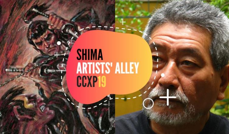 Julio Shimamoto será o grande homenageado do Artists's Alley na CCXP19