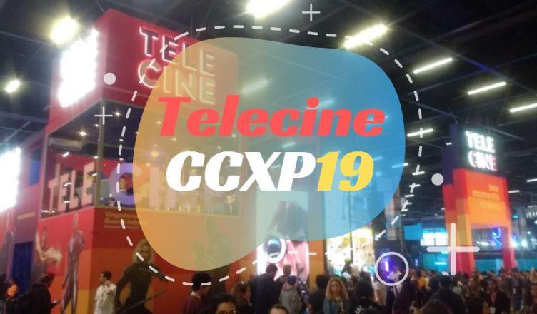 Estande do Telecine com diversas atrações na CCXP19